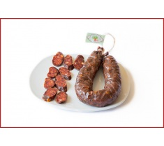 Chorizo de ciervo, sarta