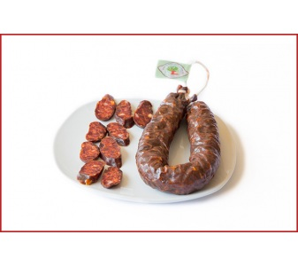 Chorizo de corzo, sarta