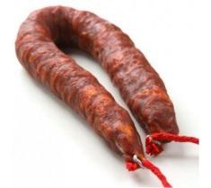 Chorizo en sarta picante